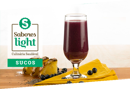 Sabores Light - Sucos