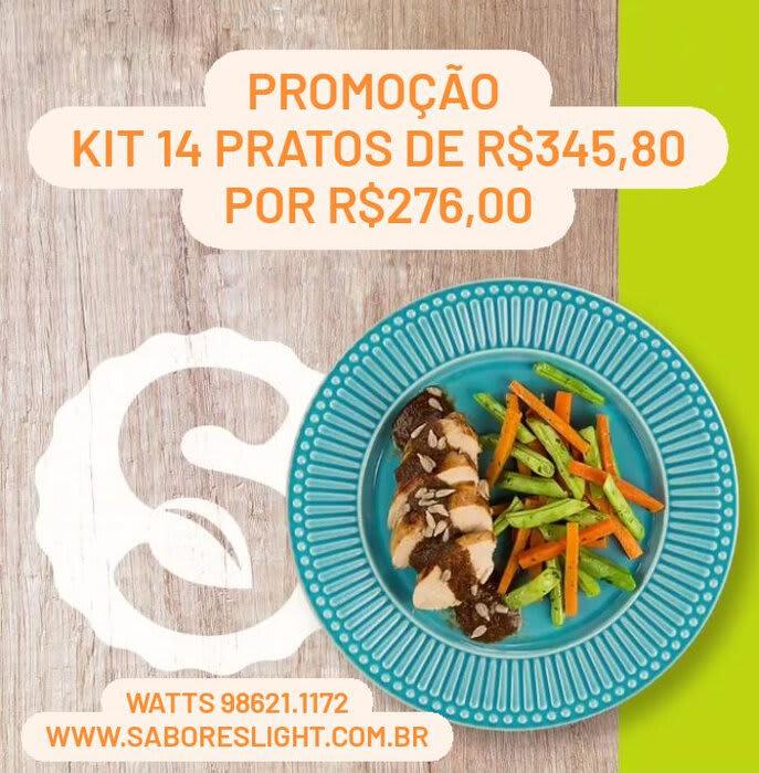 Kit promocional 14 pratos