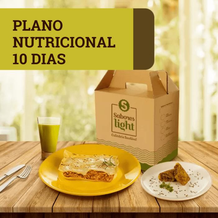 PLANO NUTRICIONAL 10 DIAS