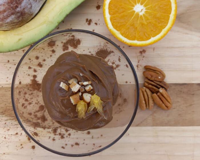 Mousse de chocolate 80%