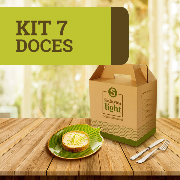 KIT 7 DOCES